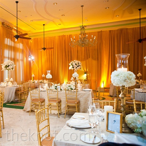 Yellow Gold Wedding Decorations